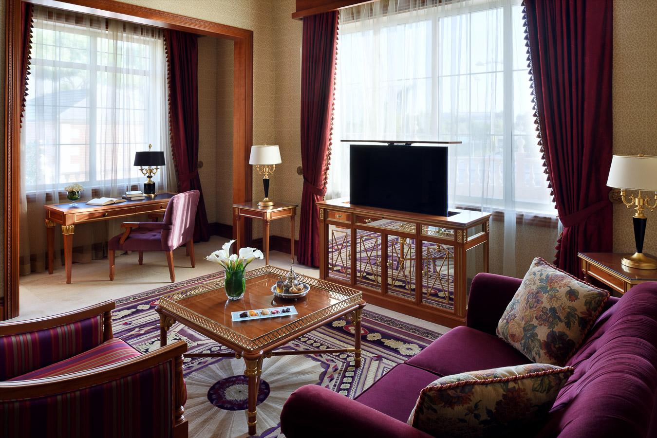 Park Suite Living area