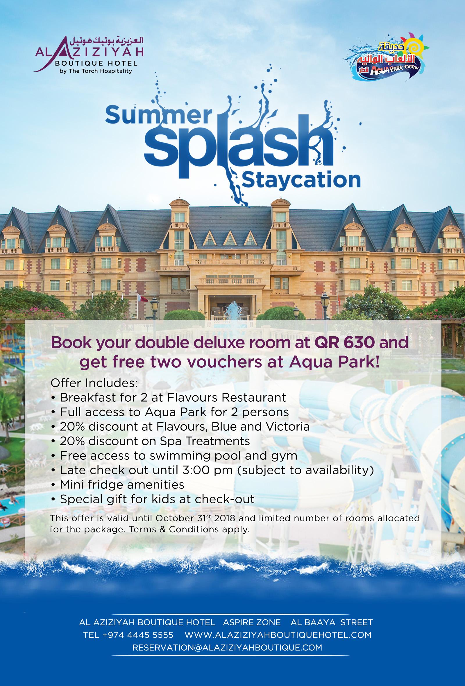 Summer Splash Offer